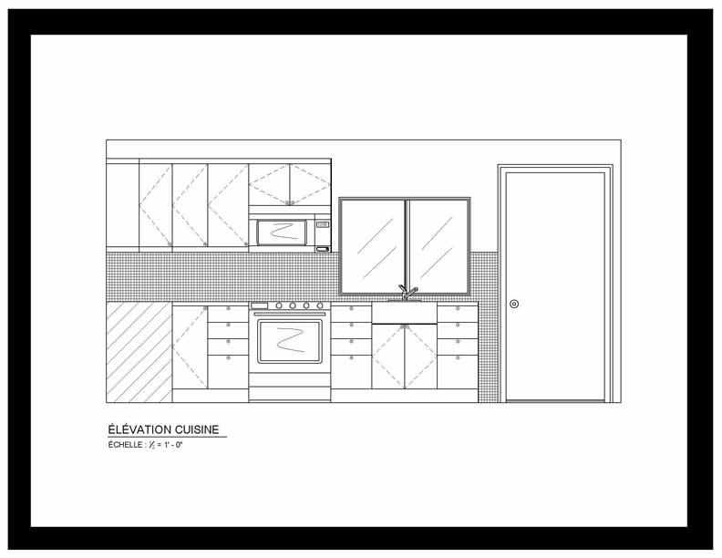 Elevation D Un Plan : Projet conceptuel petit condo pi m isly design