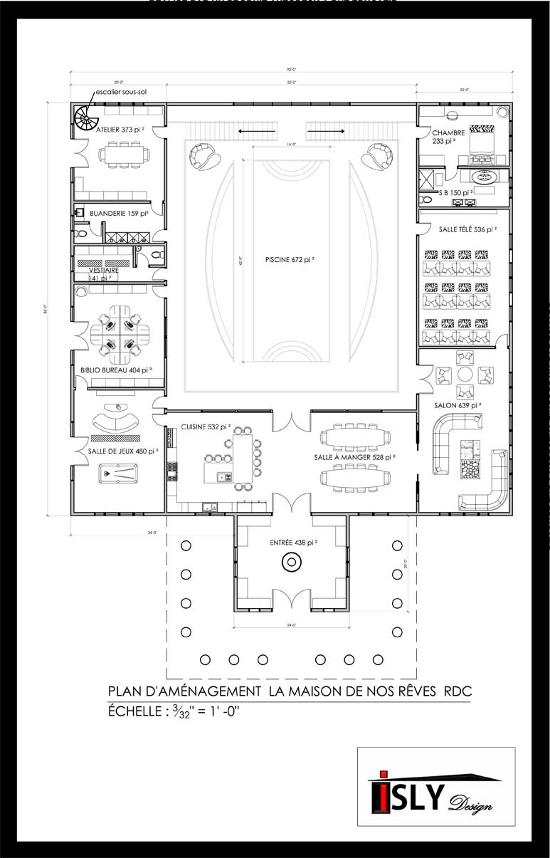 La maison de mes r ves et vous isly design for Mes plans de maison